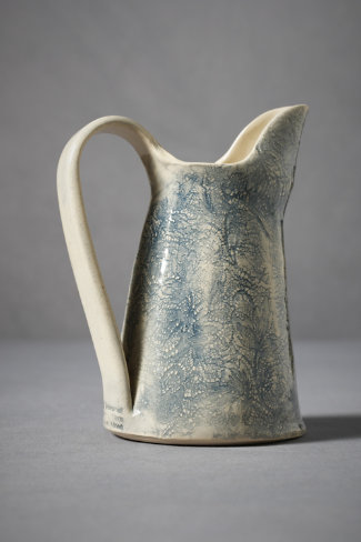 Pressed Lace Pitcher