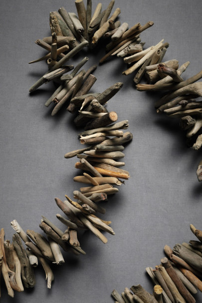 Natural Driftwood Garland | BHLDN