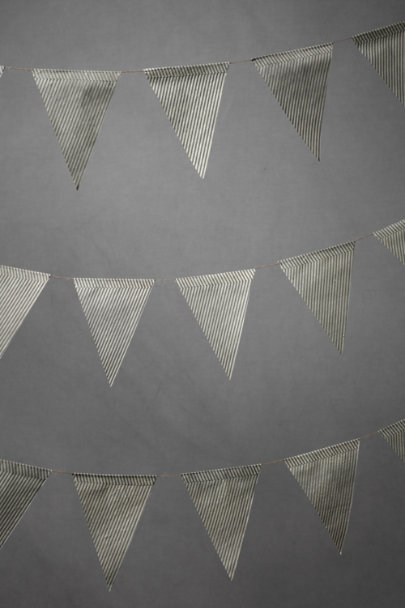 Striped Pennant Garland (5)