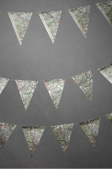 Off The Map Pennant Garland