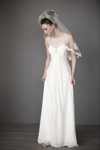 Panes of Lace Gown