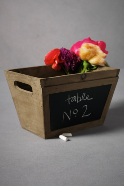 Natural In Writing Planter | BHLDN