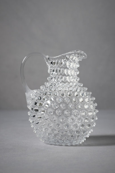 Clear Tackety Pitcher, Round | BHLDN