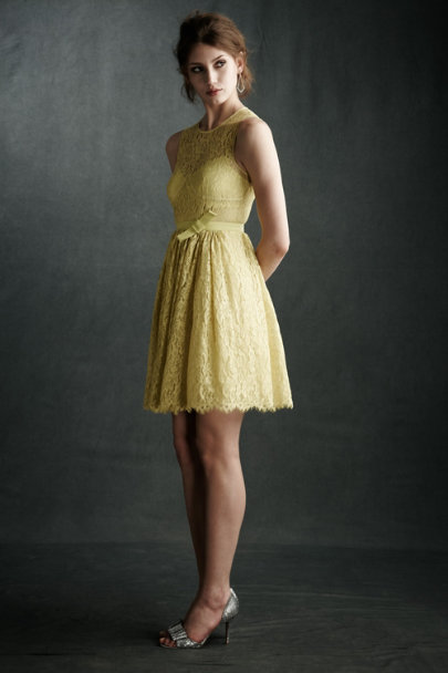 Pineapple Limoncello Lace Dress | BHLDN
