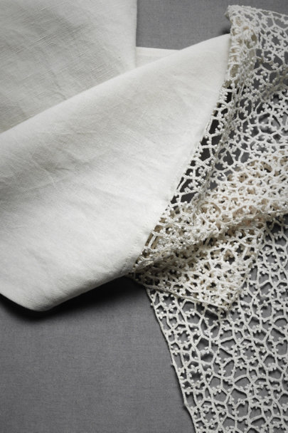 Ivory Crossing Paths Table Runner | BHLDN