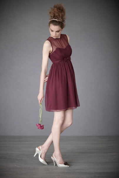 Plum Savoy Dress | BHLDN