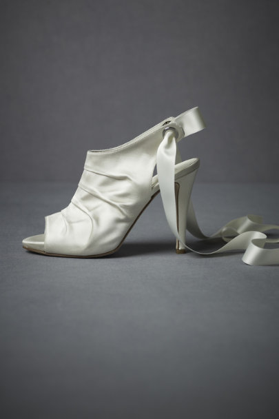 Ivory Tied-And-True Booties | BHLDN