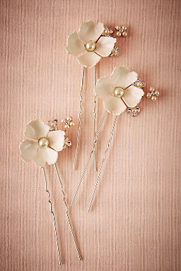 Dogwood Flower Hairpins (3)