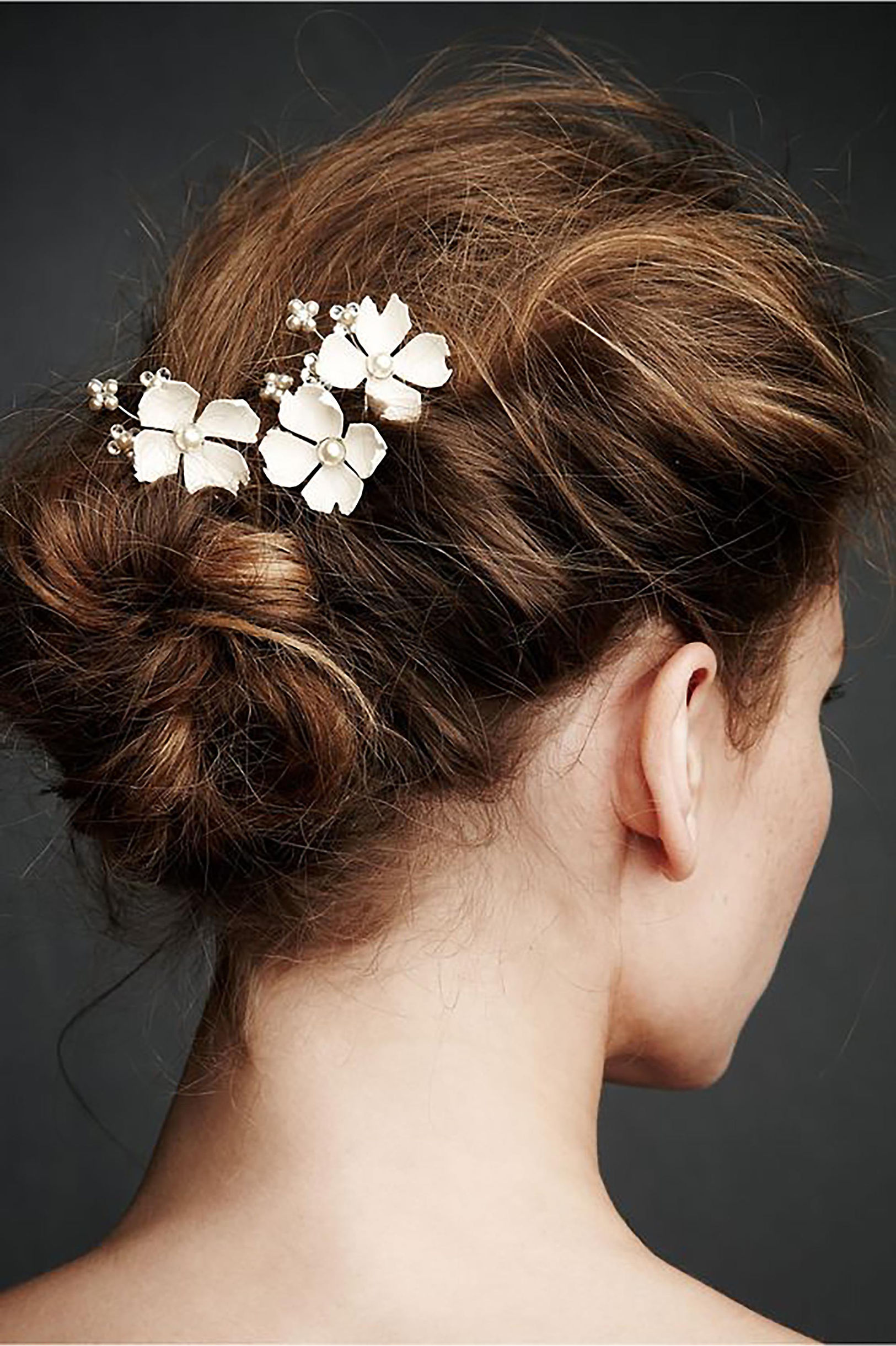 Hair accessories for wedding online india - Dogwood Flower Hairpins 3 In Headpieces Bhldn Aliexpress Com 20pcs Flower Bridal Wedding Hair Pins Accessories
