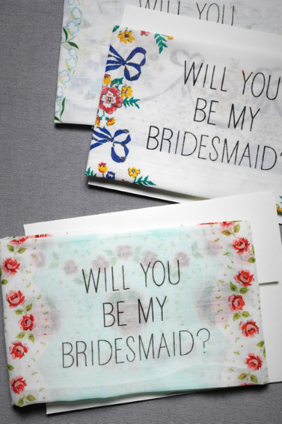 Bridesmaid Kerchief