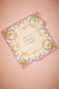 Maid Of Honor Kerchief