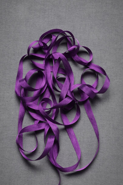 Plum Silk Ribbon | BHLDN