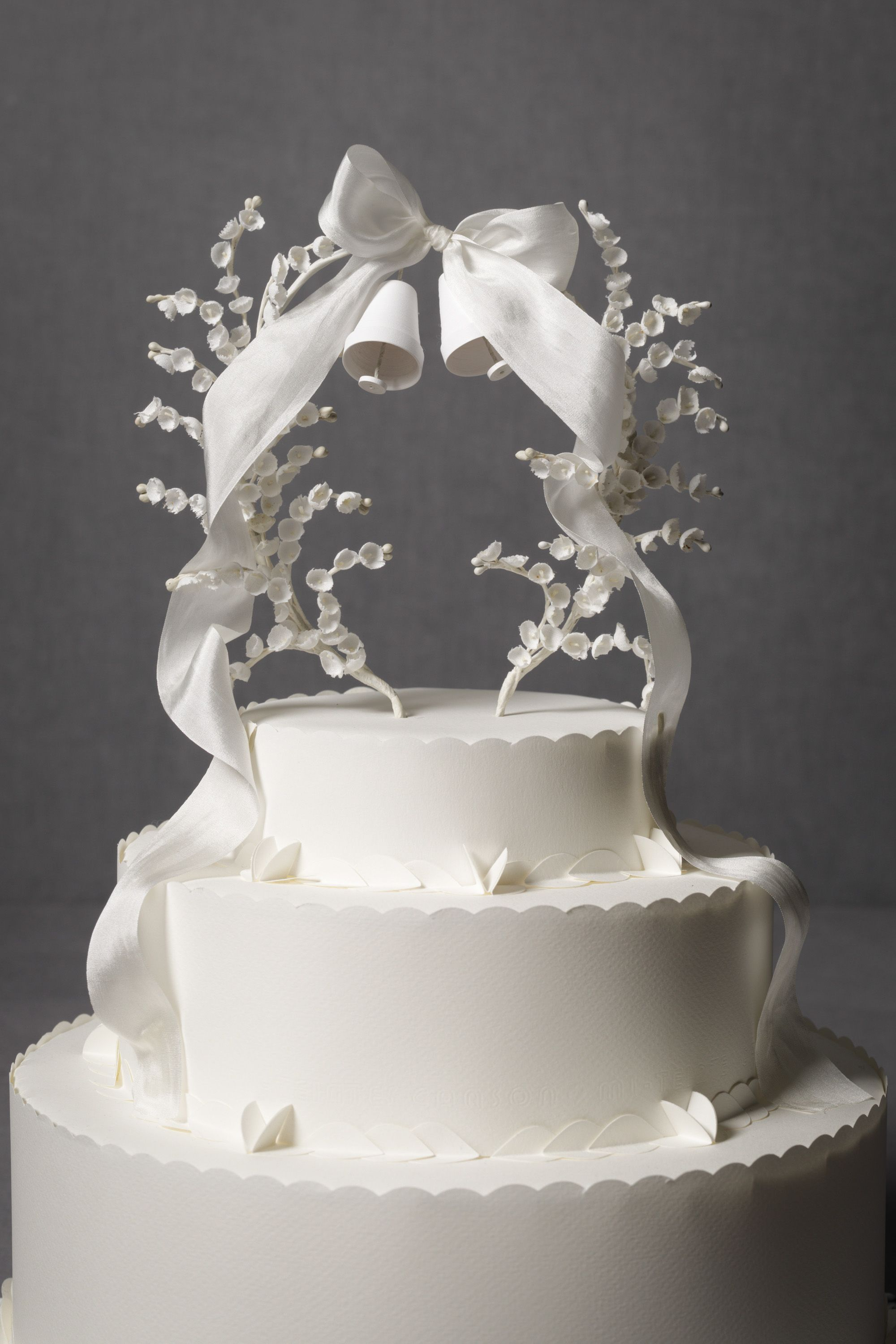 An extremely overpriced cake topper from BHLDN.