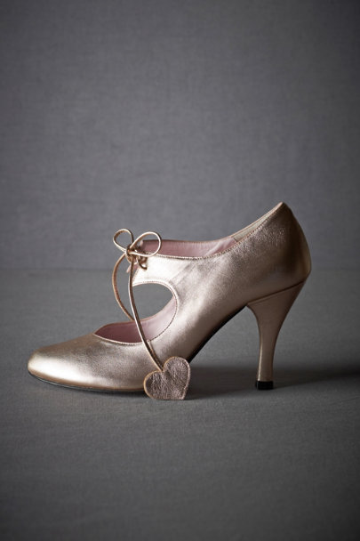 Peach Story Amour Mary Janes | BHLDN