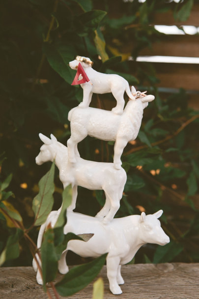Four-Footed-Fete Cake Topper | BHLDN