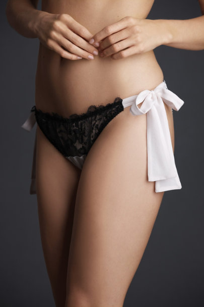 Pink Film Noir Knickers | BHLDN