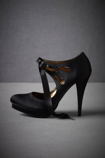 Black Bombshell Booties | BHLDN