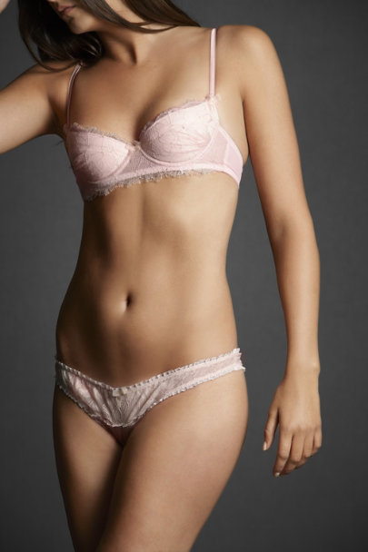 Pink Strawberry Mousse Bra | BHLDN