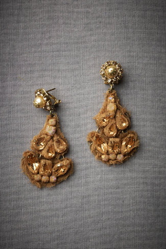 Cloaked Chandelier Earrings