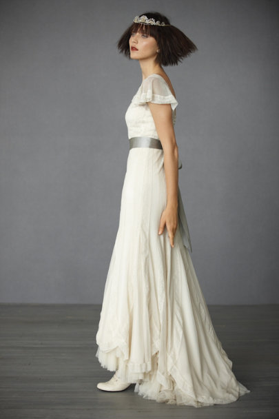 Ivory Victoria's Reign Gown | BHLDN
