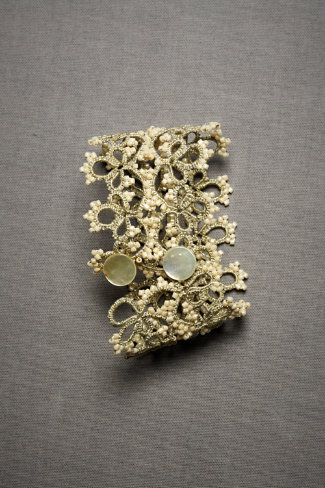 Queen Anne's Lace Cuff