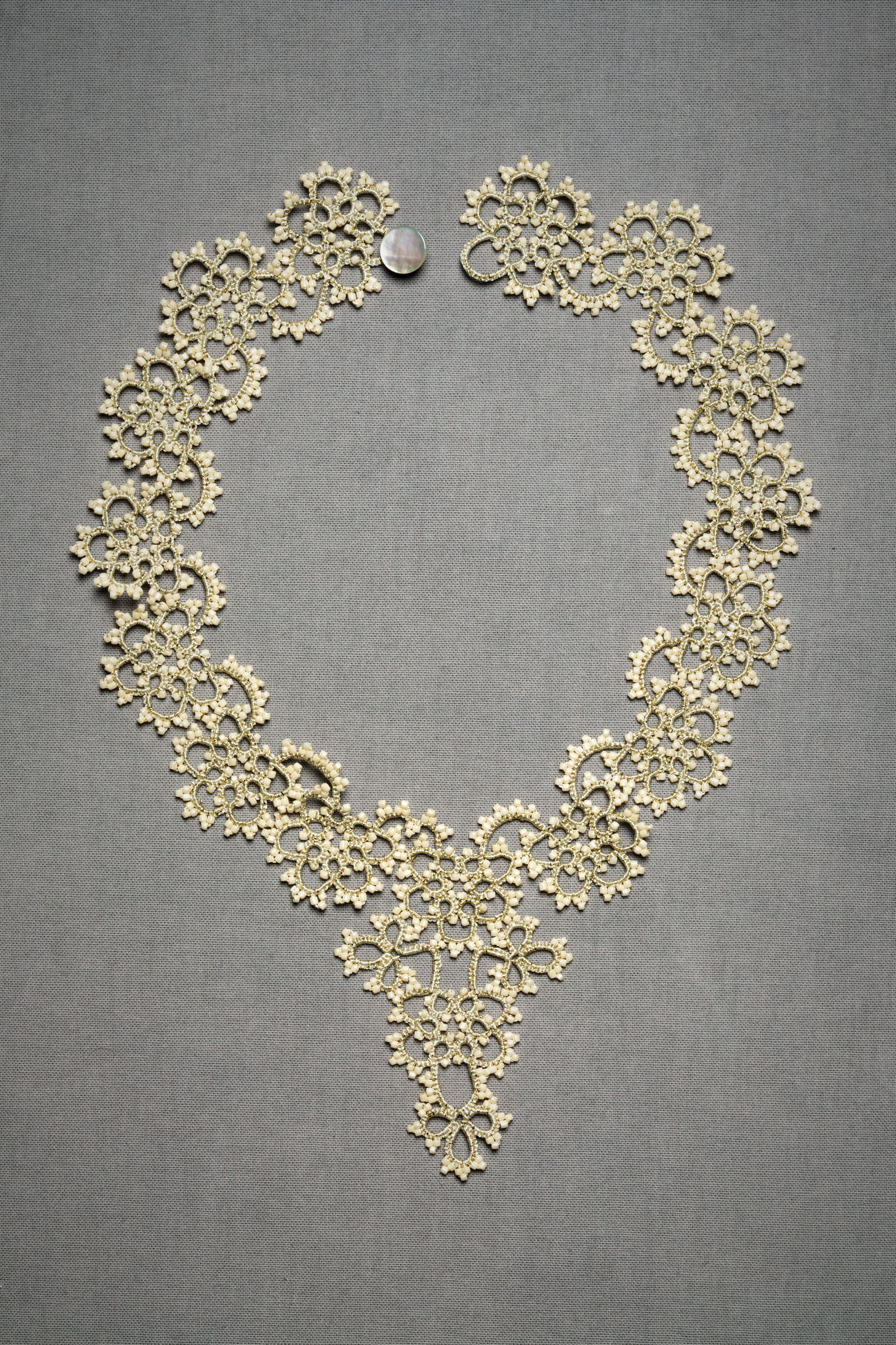 Queen Annes Lace Necklace