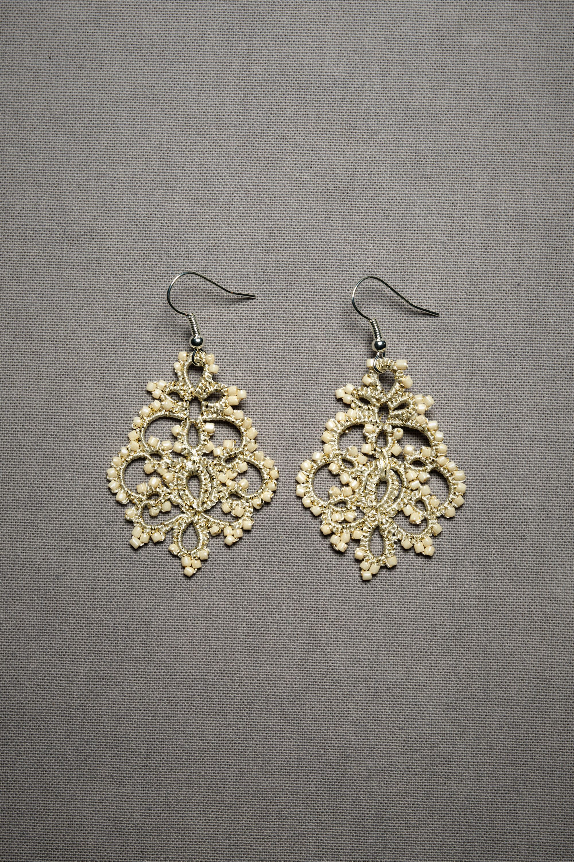 Queen Annes Lace Earrings