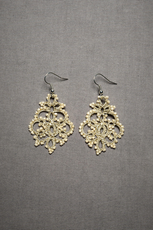 Queen Annes Lace Earrings