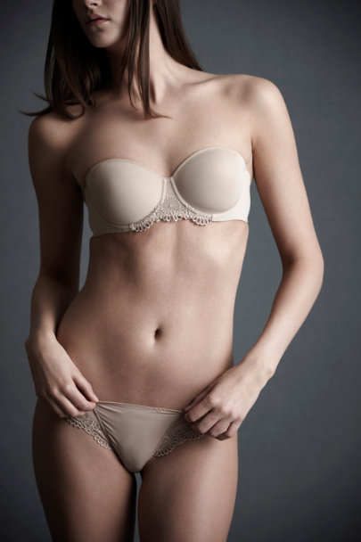Nude Asterid Strapless Bra | BHLDN