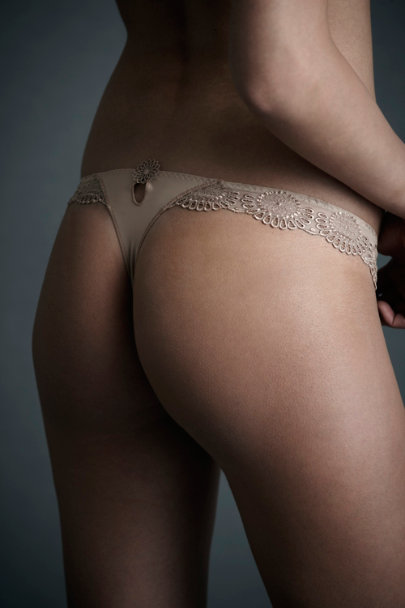 Nude Asterid Thong | BHLDN