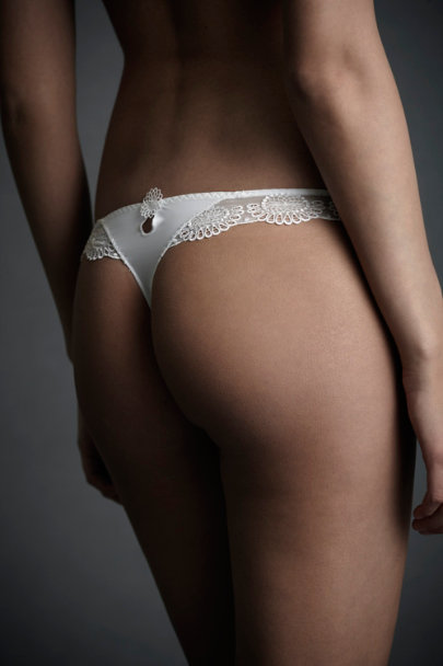 White Asterid Thong | BHLDN