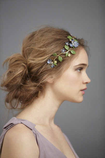 Blue Motif Orchard-In-Summer Hairpin | BHLDN