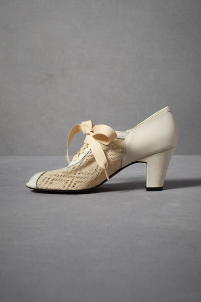 Ivory Deco Lace-Ups | BHLDN