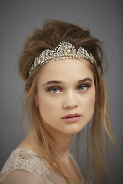 Silver Coronation Headband | BHLDN