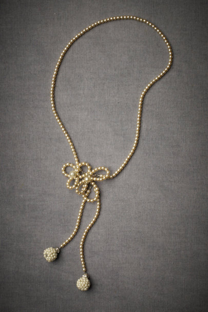 Debra Moreland Pearl Insignia Necklace | BHLDN