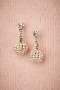 Golden Raspberry Earrings