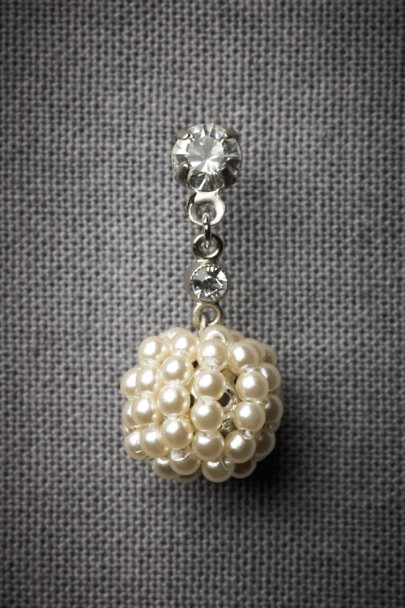 Pearl Golden Raspberry Earrings | BHLDN