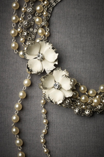 Pearl Cloudburst Necklace | BHLDN