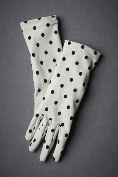 Ebony-Flecked Gloves