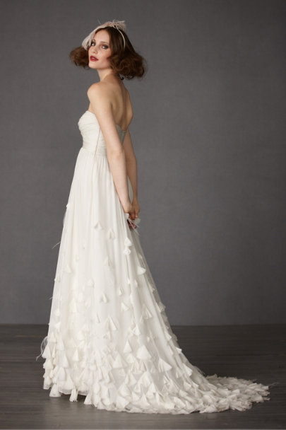 Ivory Windswept Gown | BHLDN
