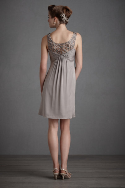 Grey Tracery Dress | BHLDN