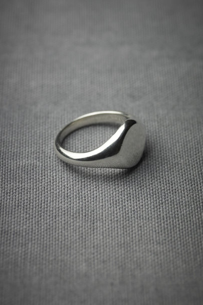 Silver Signet Ring | BHLDN