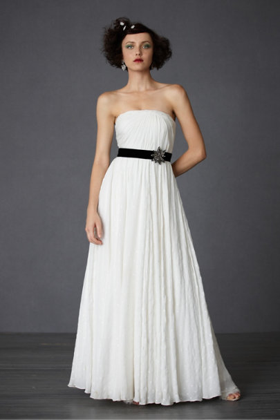 Ivory Astral Gown | BHLDN