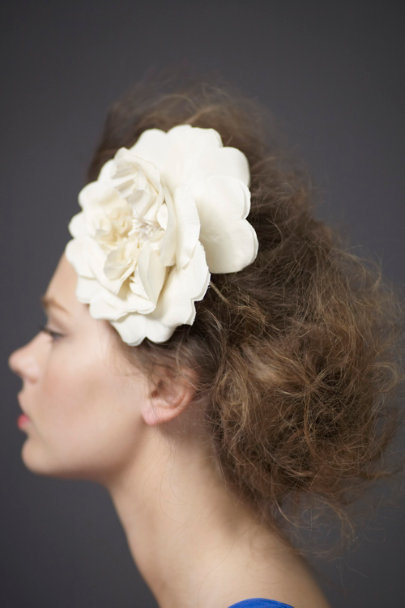 Ivory Marguerite Halo | BHLDN