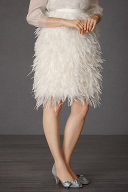 Frolicking Feathers Skirt