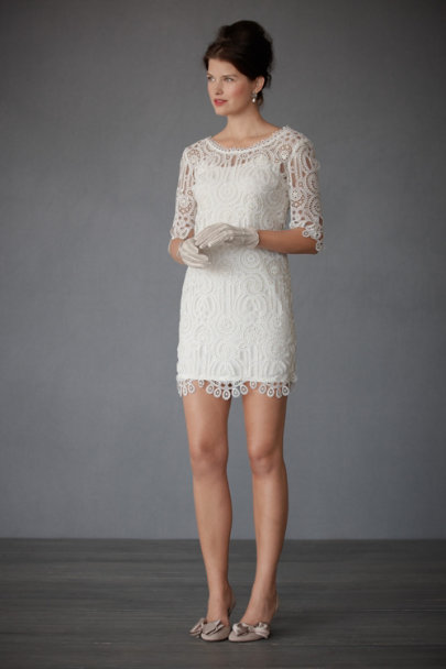 Ivory Dainty Diversion Mini | BHLDN