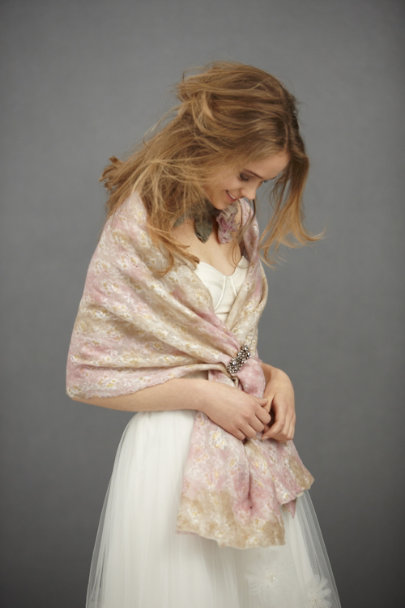Pink Combo Sunset Scarf | BHLDN