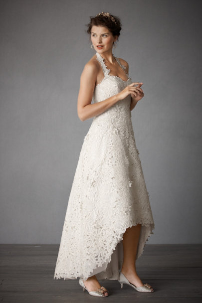 Ivory Sculpted Dream Gown | BHLDN