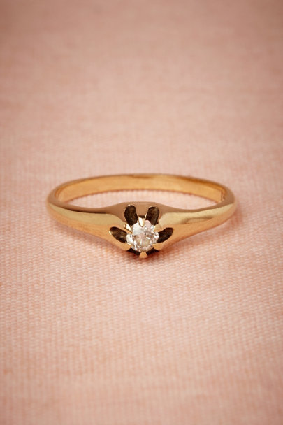 gold Hinterland Ring | BHLDN