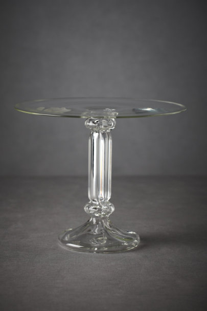 Clear Bent Light Treat Pedestal | BHLDN
